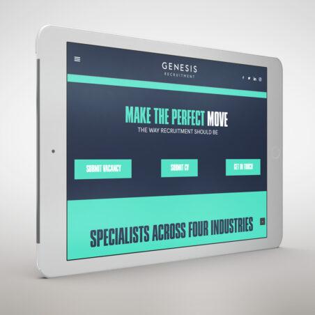 genesis-recruitment-x-fuze-digital-web-design-showcase-cover-image